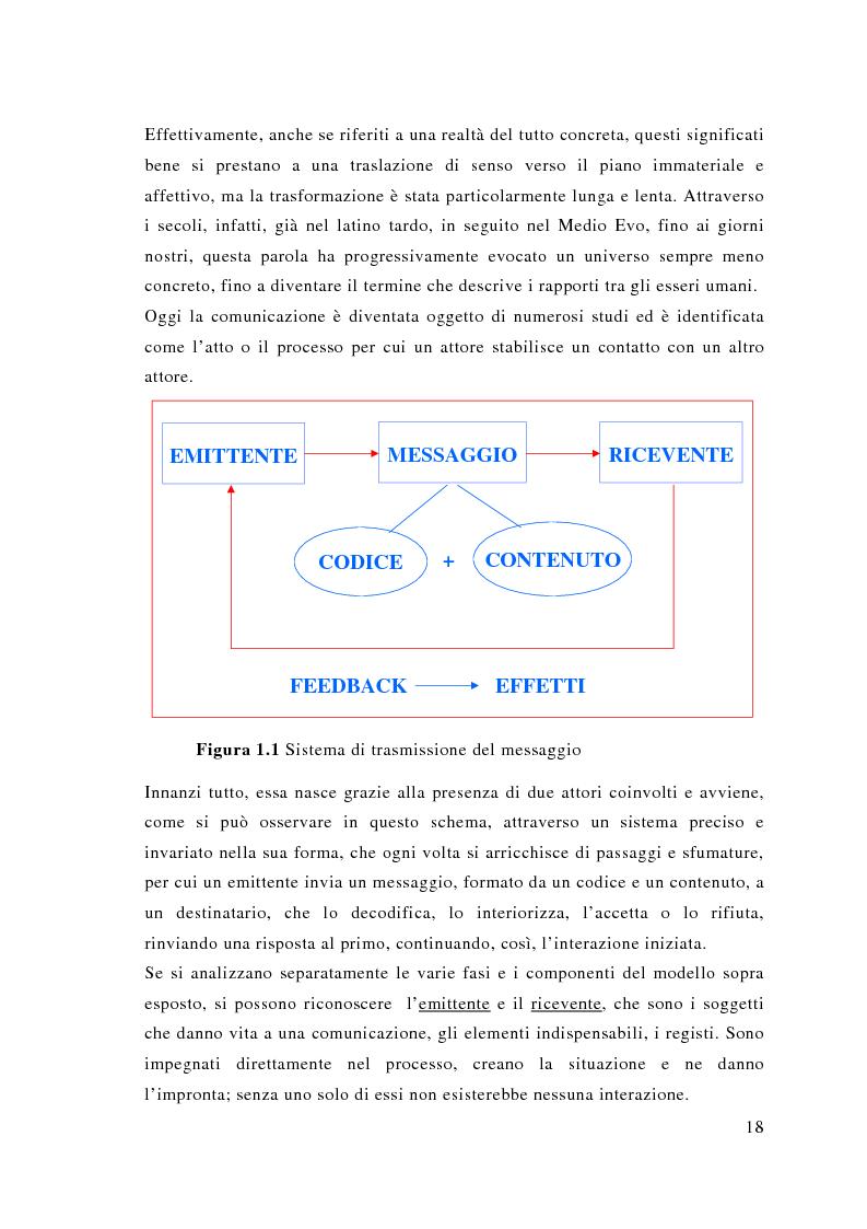 Anteprima della tesi: Comunicazione e sport: il caso della pallavolo, Pagina 9