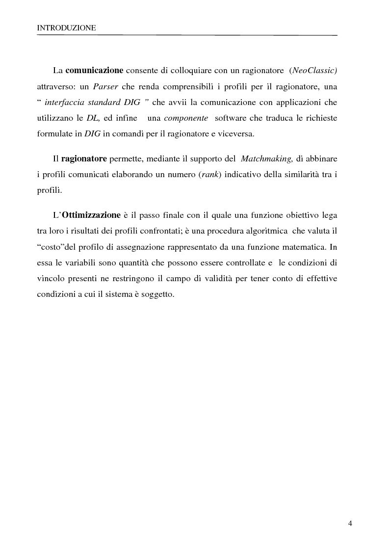 Anteprima della tesi: Sistema per la gestione degli skills con metodologie di rappresentazione della conoscenza, Pagina 4