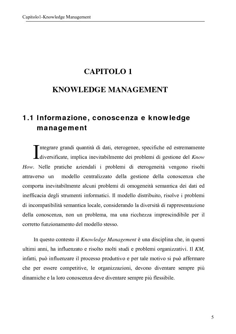 Anteprima della tesi: Sistema per la gestione degli skills con metodologie di rappresentazione della conoscenza, Pagina 5