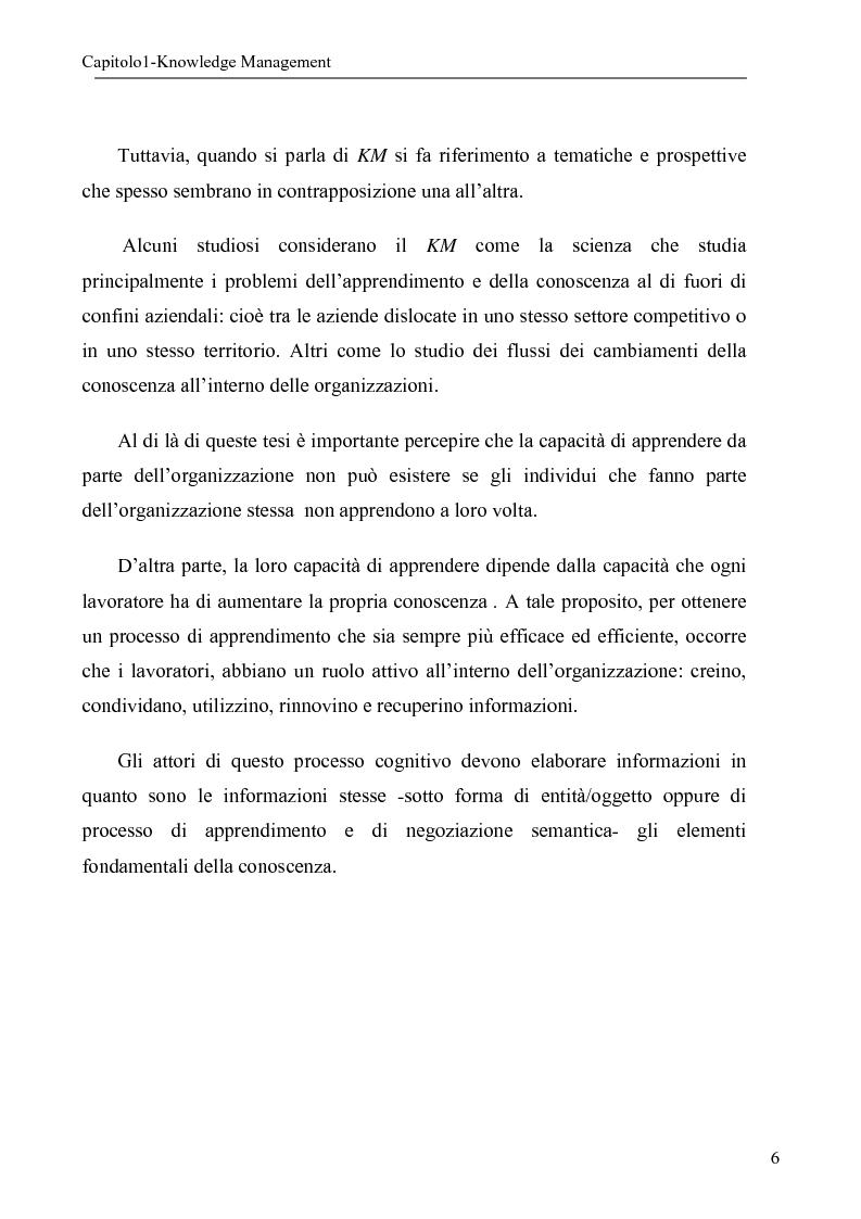 Anteprima della tesi: Sistema per la gestione degli skills con metodologie di rappresentazione della conoscenza, Pagina 6