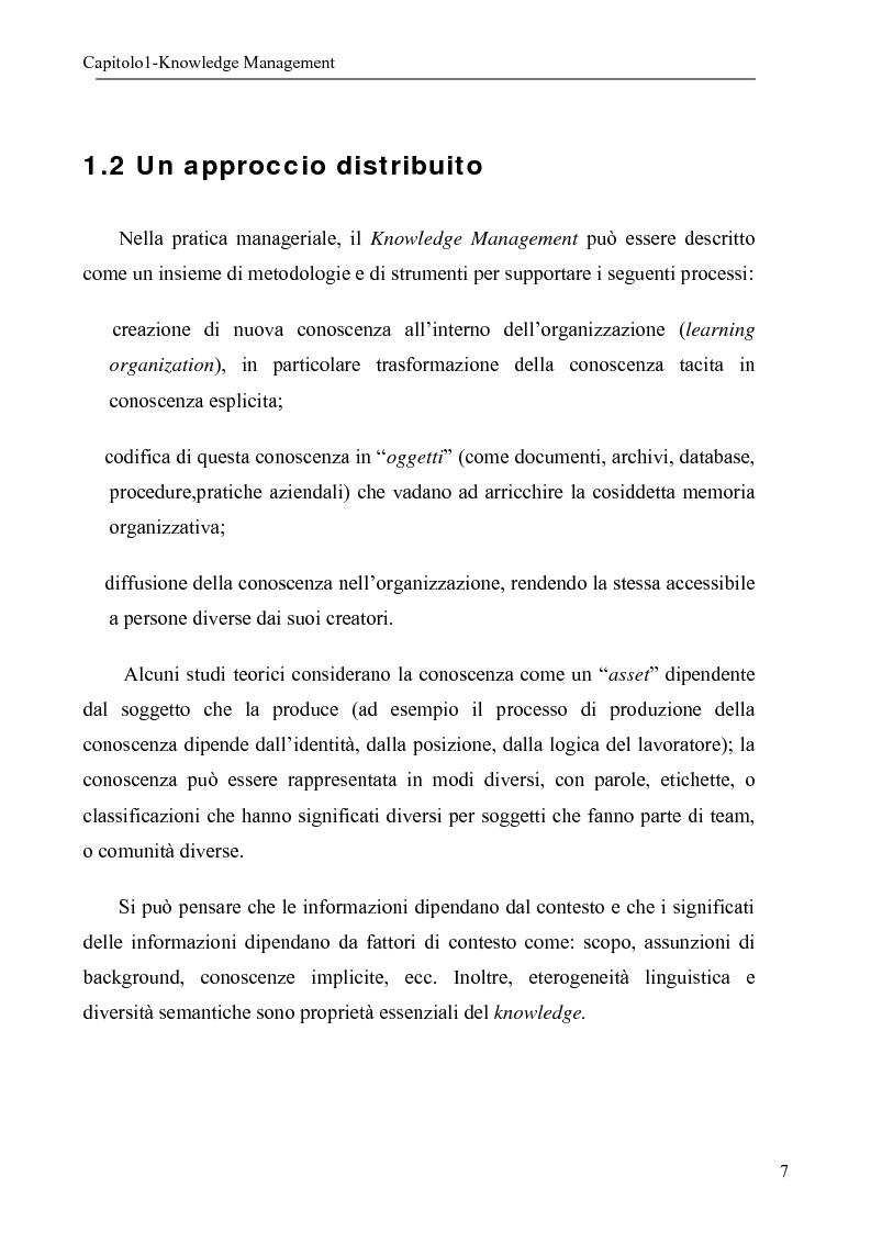 Anteprima della tesi: Sistema per la gestione degli skills con metodologie di rappresentazione della conoscenza, Pagina 7