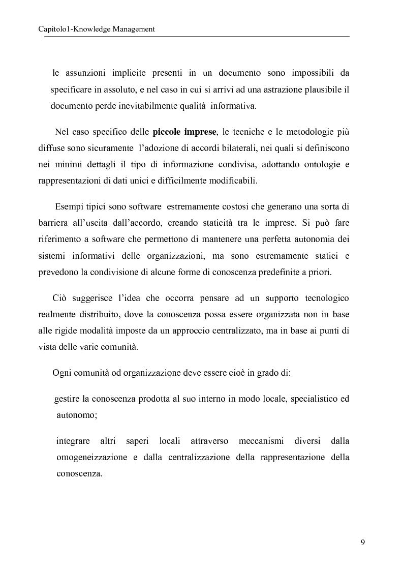 Anteprima della tesi: Sistema per la gestione degli skills con metodologie di rappresentazione della conoscenza, Pagina 9