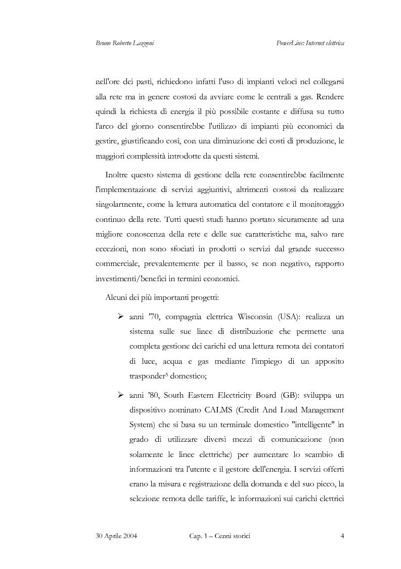 Anteprima della tesi: Powerline: Internet Elettrica, Pagina 7