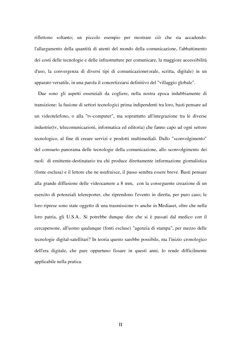 Anteprima della tesi: Il tg nei bit, Pagina 2