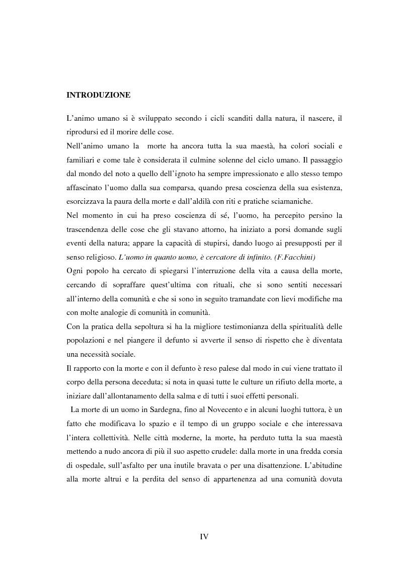 Anteprima della tesi: I riti funebri nelle popolazioni eschimesi e sarda, Pagina 1