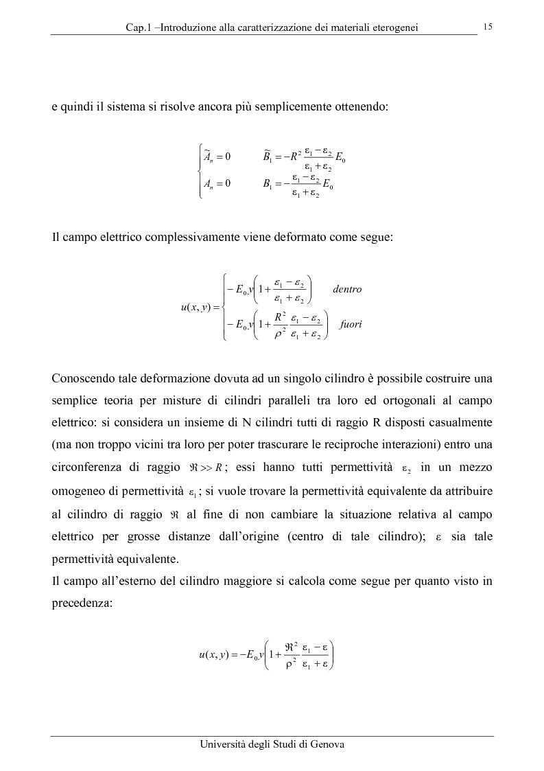 Anteprima della tesi: Caratterizzazione elettromagnetica di materiali lineari e non lineari, Pagina 14