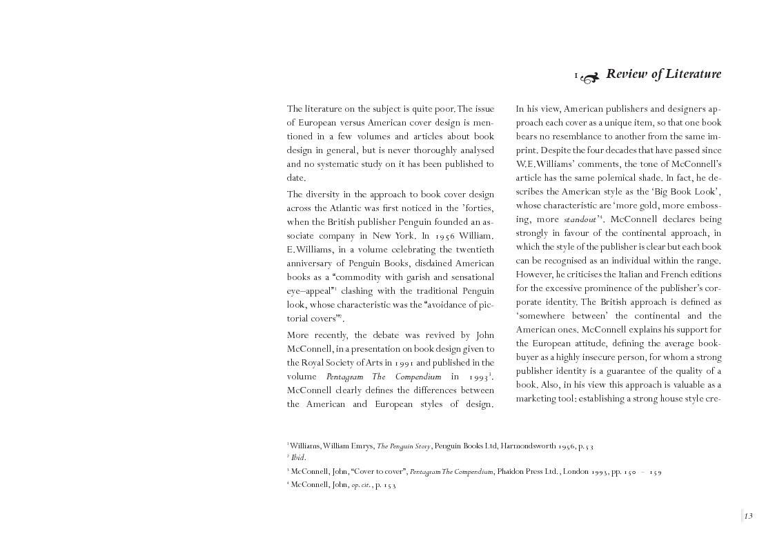 Anteprima della tesi: Book Cover design and National Culture, Pagina 4