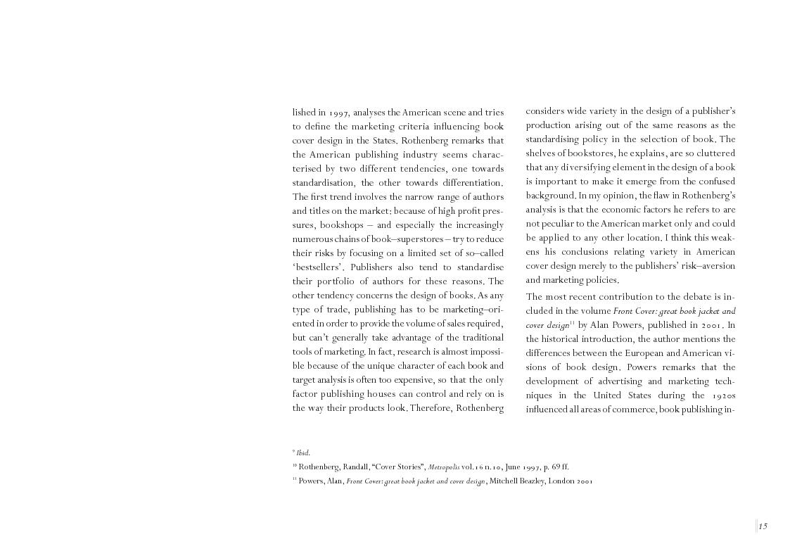 Anteprima della tesi: Book Cover design and National Culture, Pagina 6