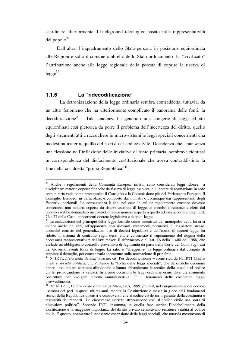 Anteprima della tesi: La posizione istituzionale della CONSOB e i suoi poteri di normazione secondaria, Pagina 8