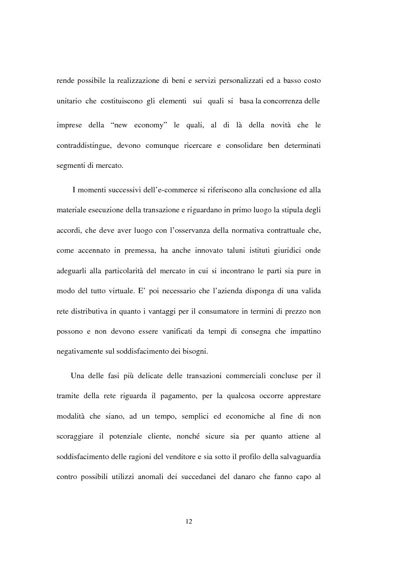 Anteprima della tesi: E-Finance: le nuove frontiere del commercio online, Pagina 12