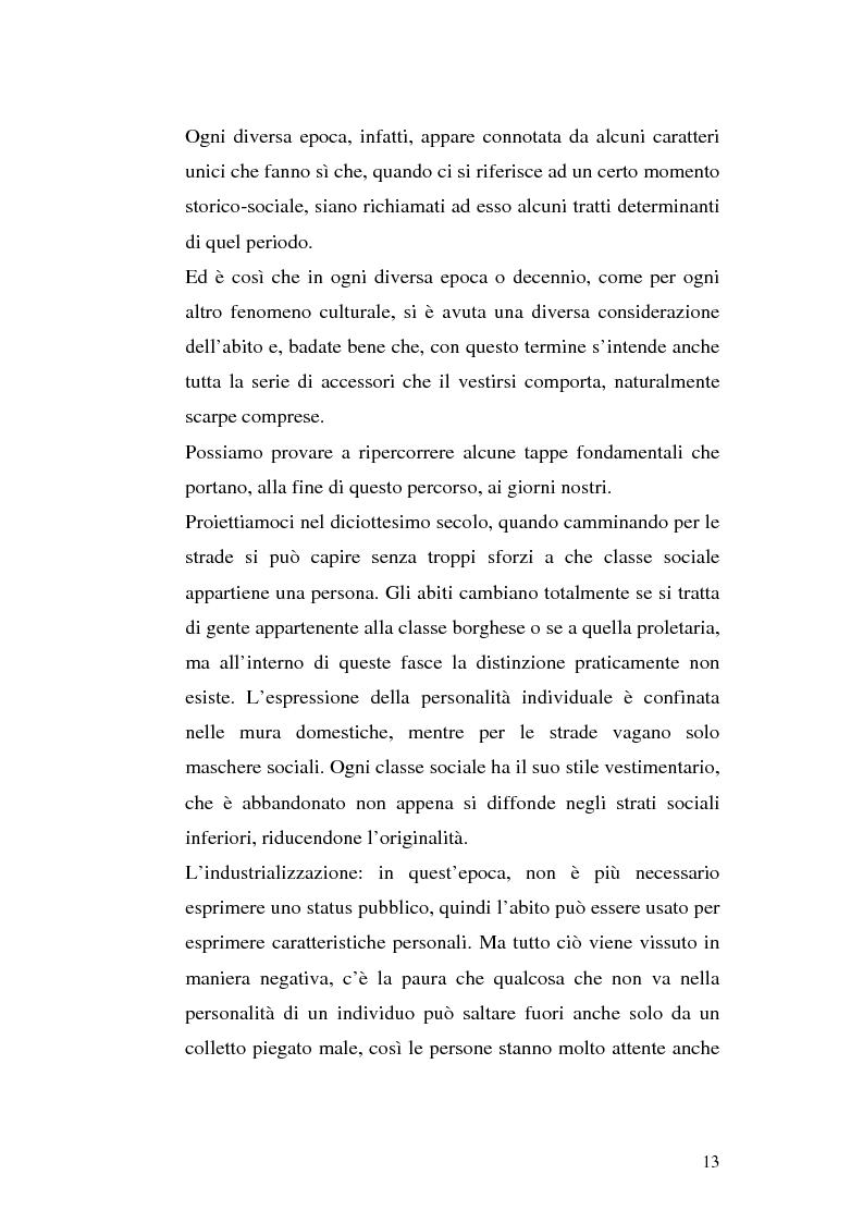 Anteprima della tesi: Evoluzione di un concetto: Sneakers da scarpe da tennis a filosofia di vita. Ruolo della pubblicità, Pagina 10