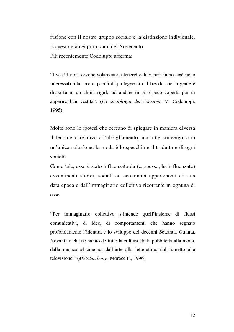 Anteprima della tesi: Evoluzione di un concetto: Sneakers da scarpe da tennis a filosofia di vita. Ruolo della pubblicità, Pagina 9