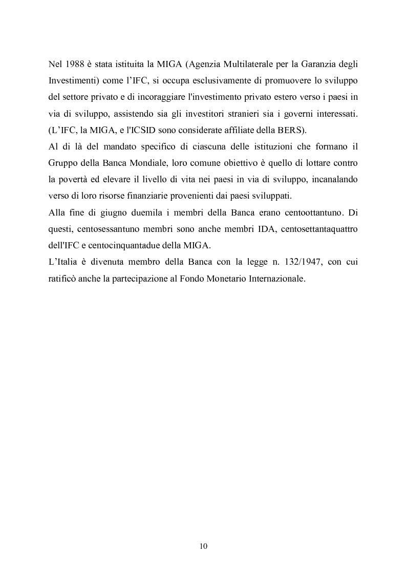 Anteprima della tesi: La Banca Europea per la ricostruzione e lo sviluppo: Istituzione, Organizzazione e Operatività, Pagina 6