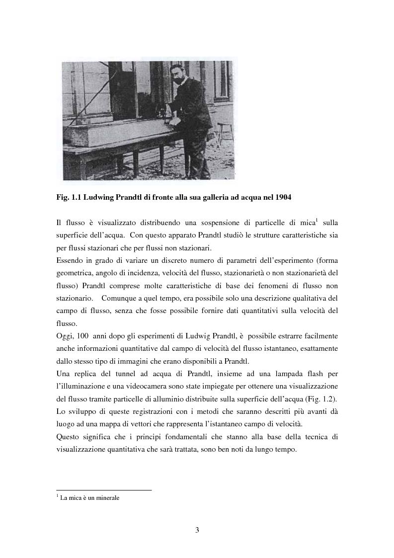 Anteprima della tesi: Misure sperimentali del flusso attorno ad un cilindro con tecnica P.I.V. ed analisi dei risultati, Pagina 3