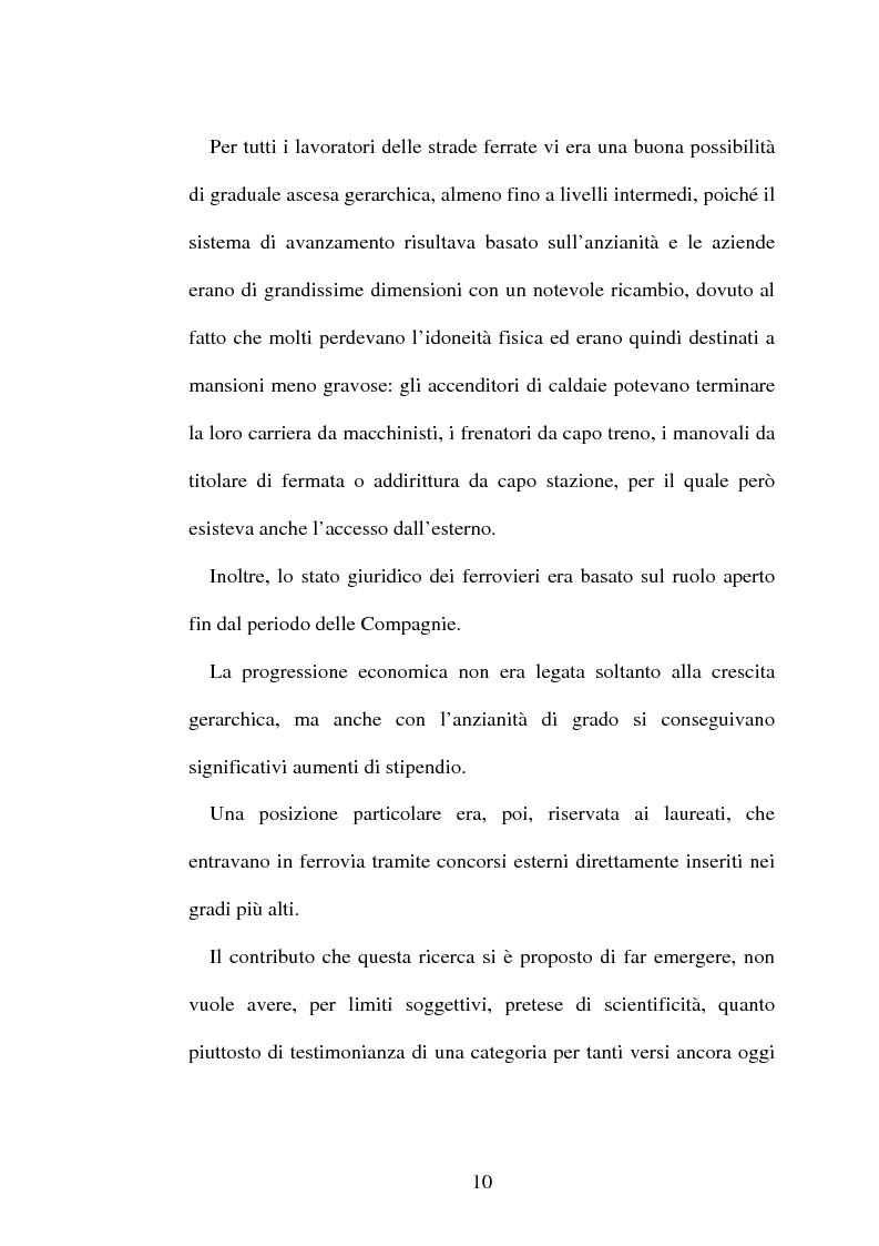 Anteprima della tesi: L'origine del movimento sindacale in ferrovia e l'Italia post-unitaria, Pagina 10