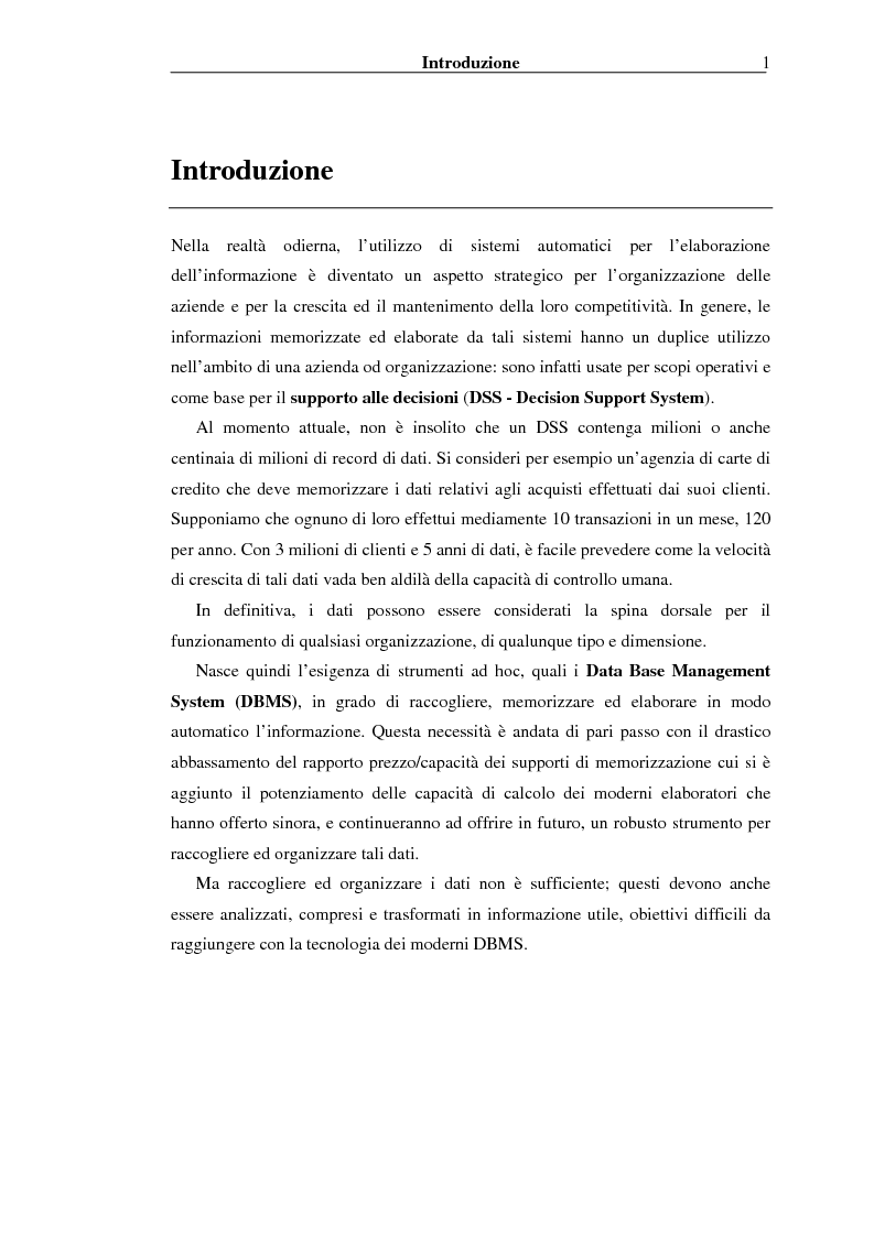 Anteprima della tesi: Implementazione di un Query Language per Knowledge Discovery, Pagina 1