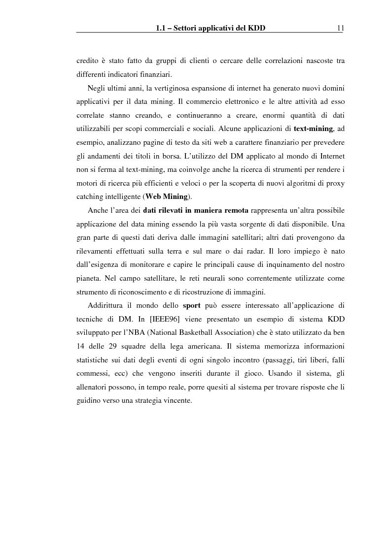 Anteprima della tesi: Implementazione di un Query Language per Knowledge Discovery, Pagina 11