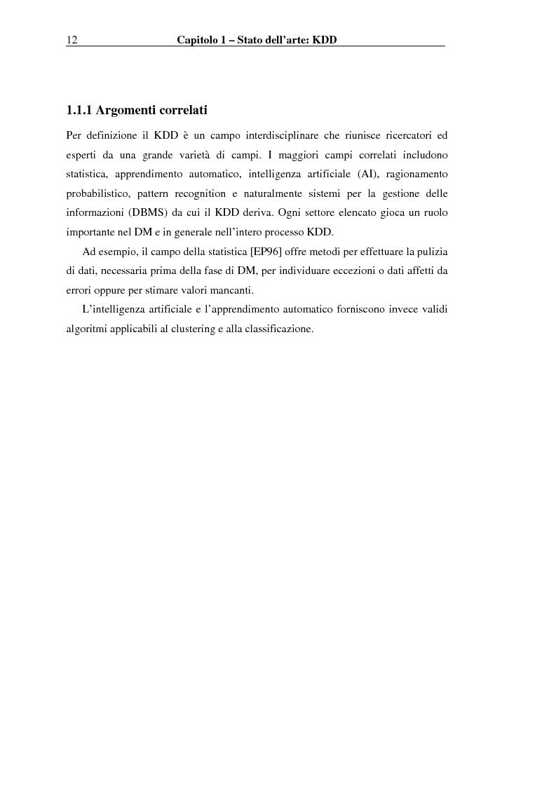 Anteprima della tesi: Implementazione di un Query Language per Knowledge Discovery, Pagina 12