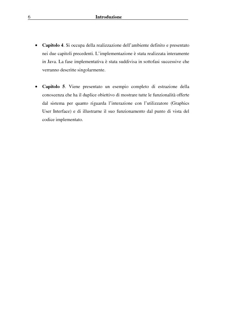Anteprima della tesi: Implementazione di un Query Language per Knowledge Discovery, Pagina 6