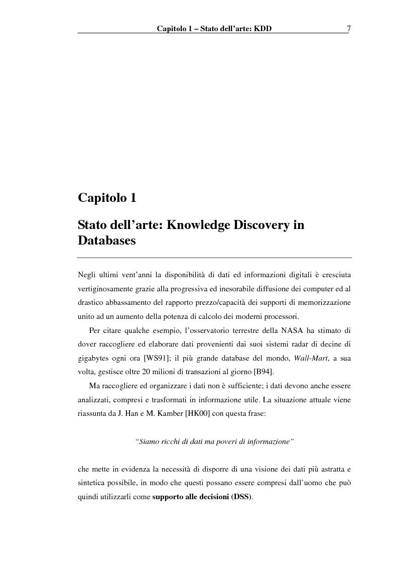 Anteprima della tesi: Implementazione di un Query Language per Knowledge Discovery, Pagina 7
