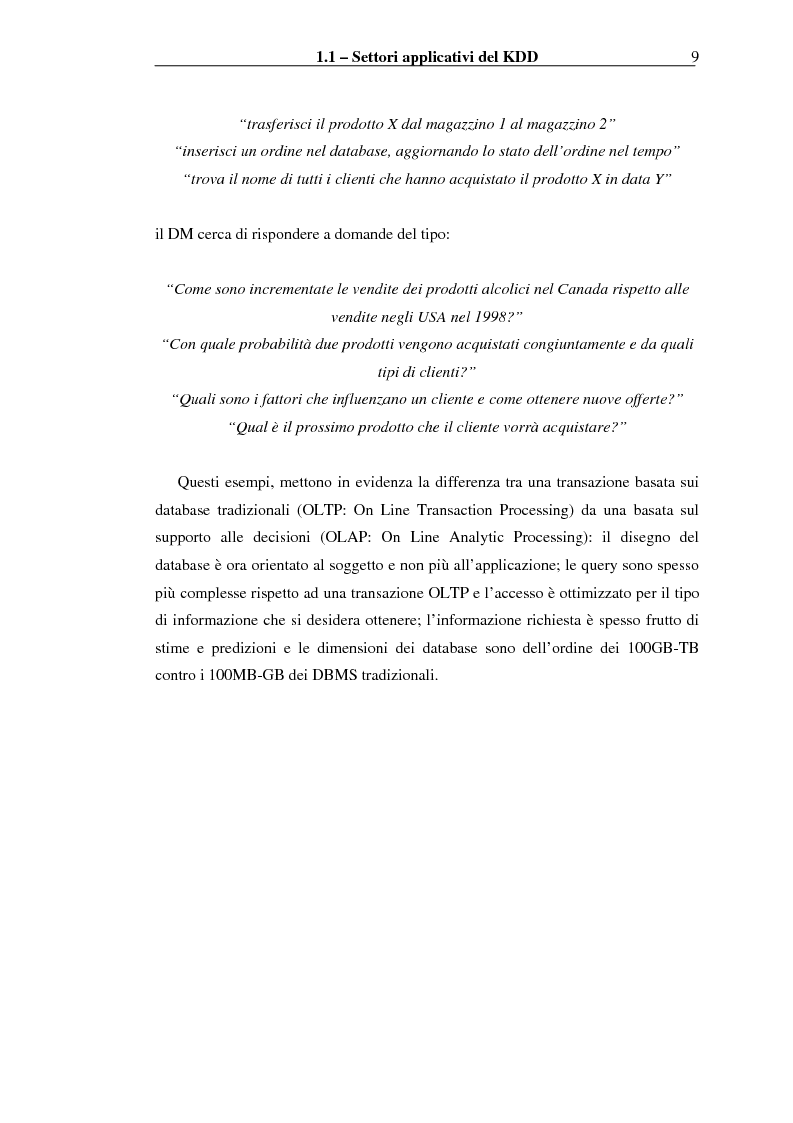 Anteprima della tesi: Implementazione di un Query Language per Knowledge Discovery, Pagina 9