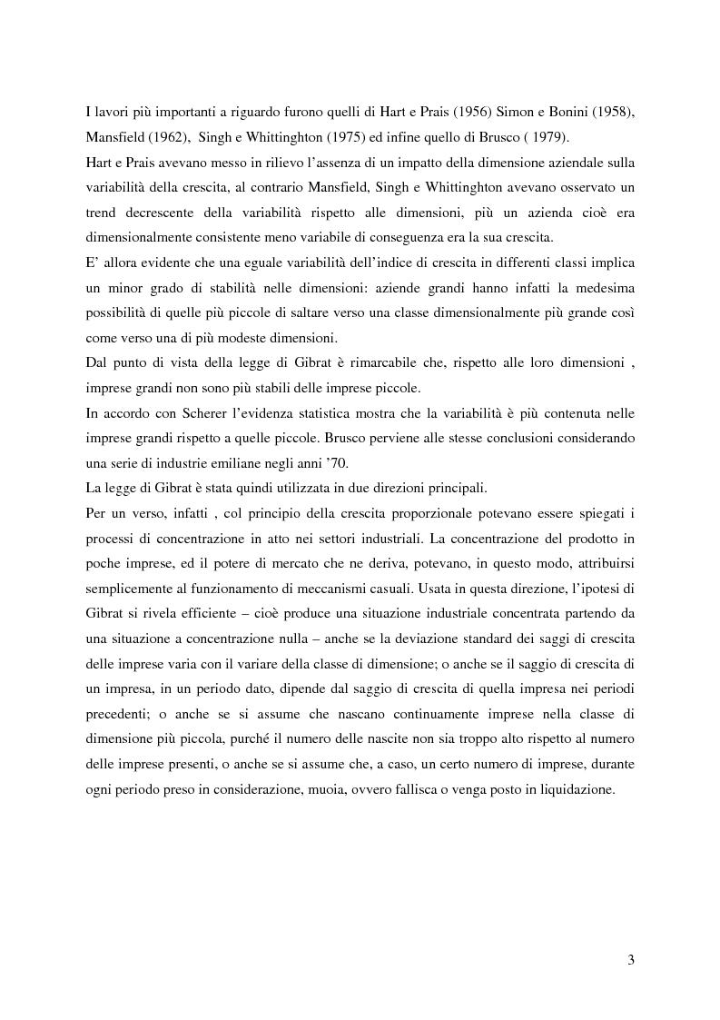 Anteprima della tesi: La distribuzione dei tassi di crescita del manifatturiero cremonese: un'analisi su panel fisso, Pagina 3
