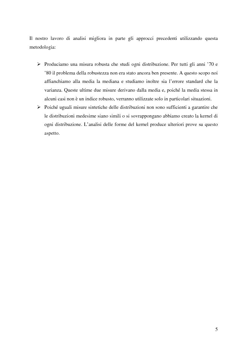Anteprima della tesi: La distribuzione dei tassi di crescita del manifatturiero cremonese: un'analisi su panel fisso, Pagina 5