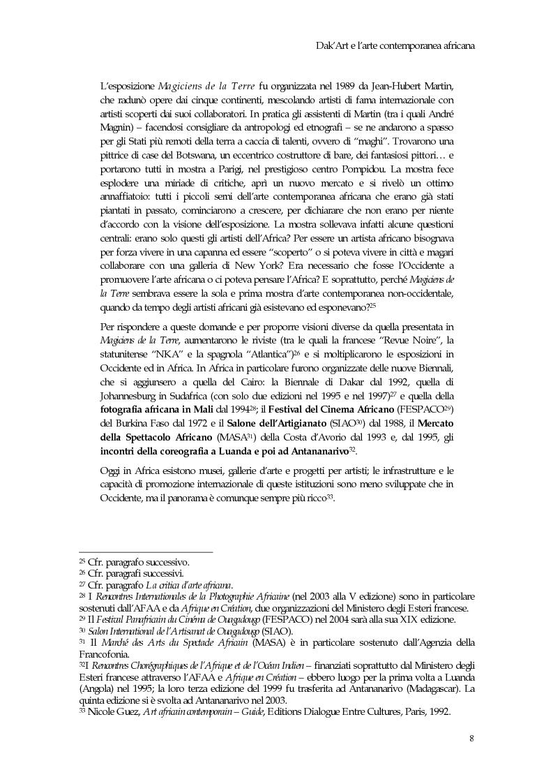 Anteprima della tesi: La Biennale di Dakar, Pagina 13