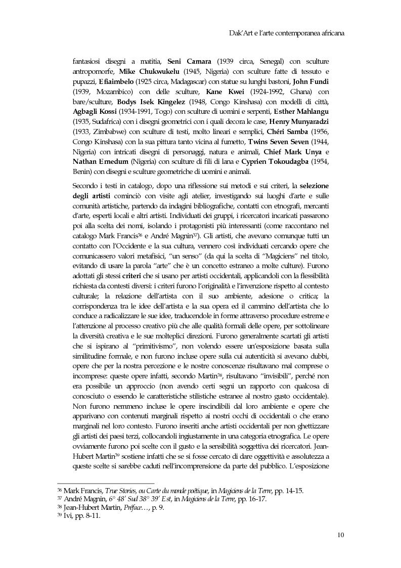 Anteprima della tesi: La Biennale di Dakar, Pagina 15