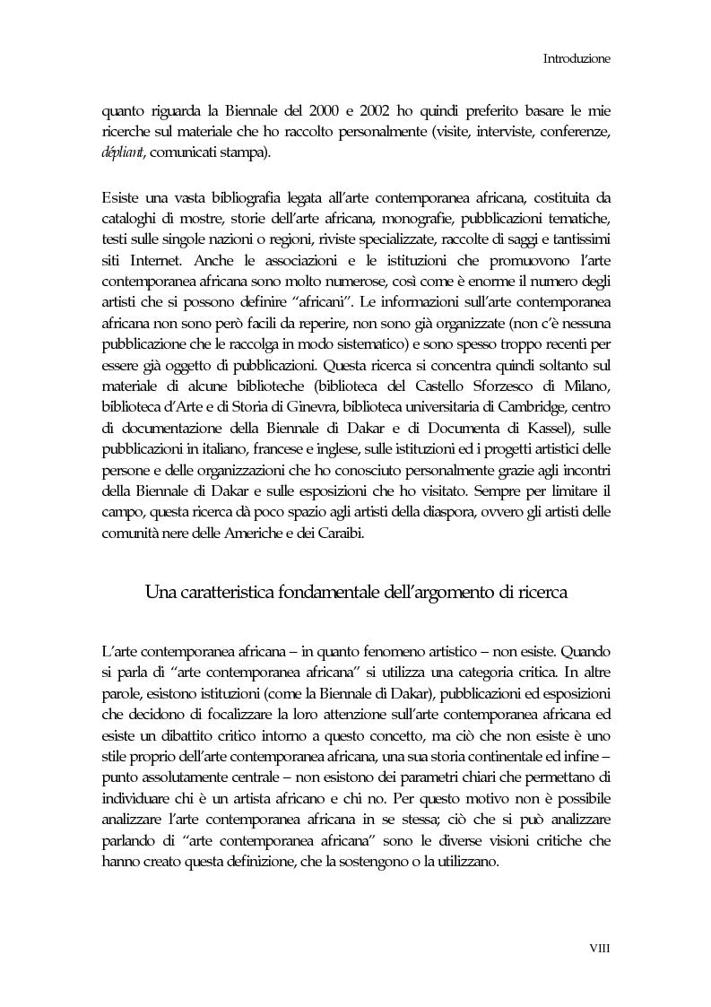 Anteprima della tesi: La Biennale di Dakar, Pagina 4