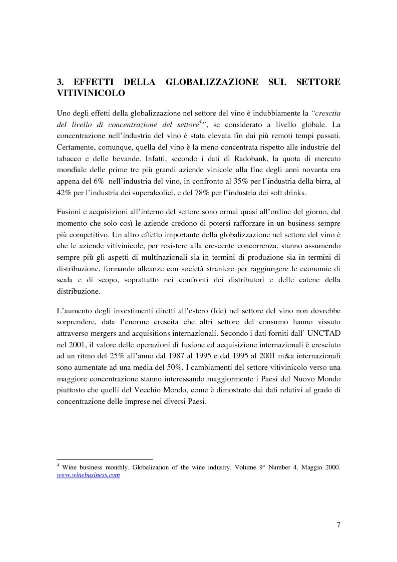 Anteprima della tesi: Strategie competitive e modelli di business nel settore vitivinicolo: il caso Illva Saronno, Pagina 7