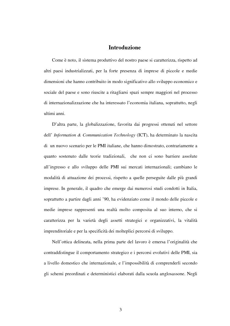 Anteprima della tesi: L'internazionalizzazione delle PMI, Pagina 1