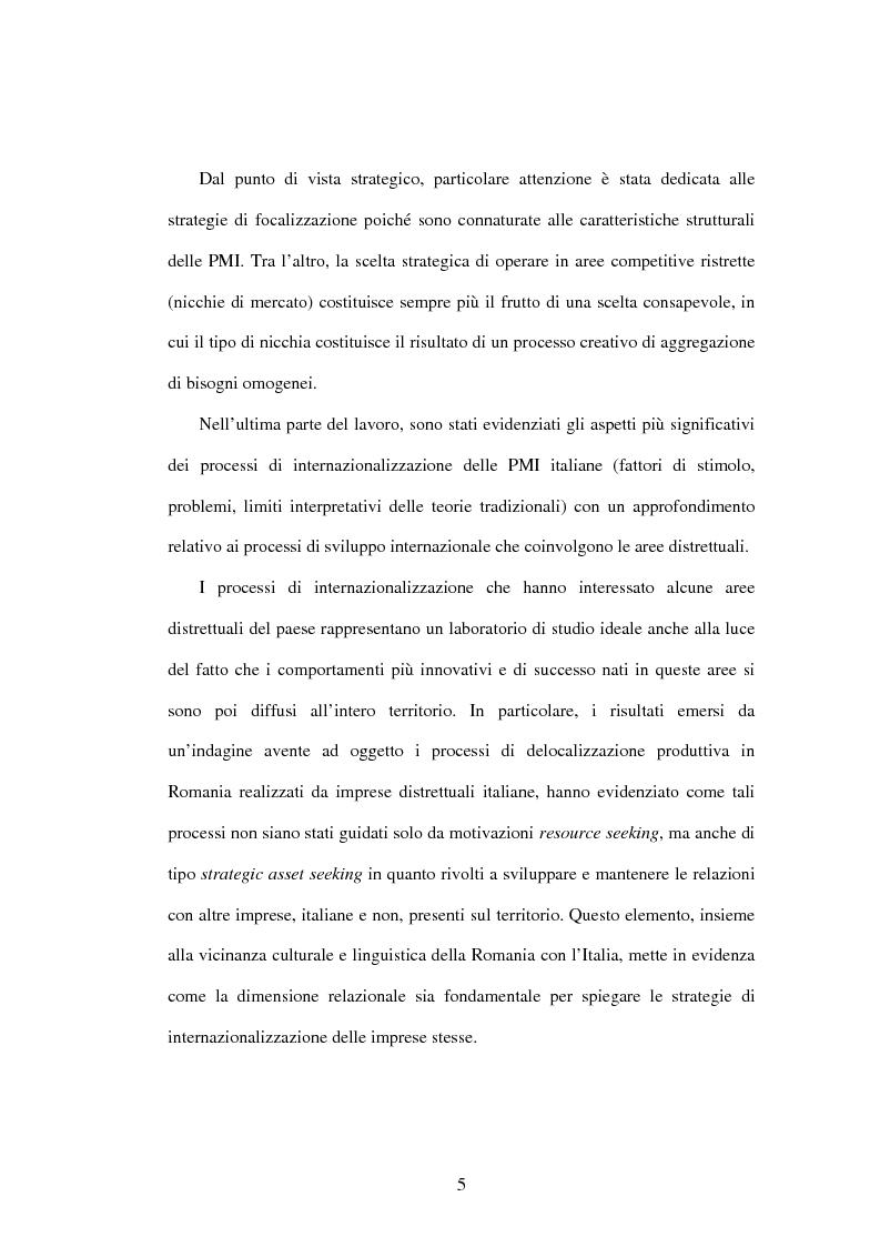 Anteprima della tesi: L'internazionalizzazione delle PMI, Pagina 3