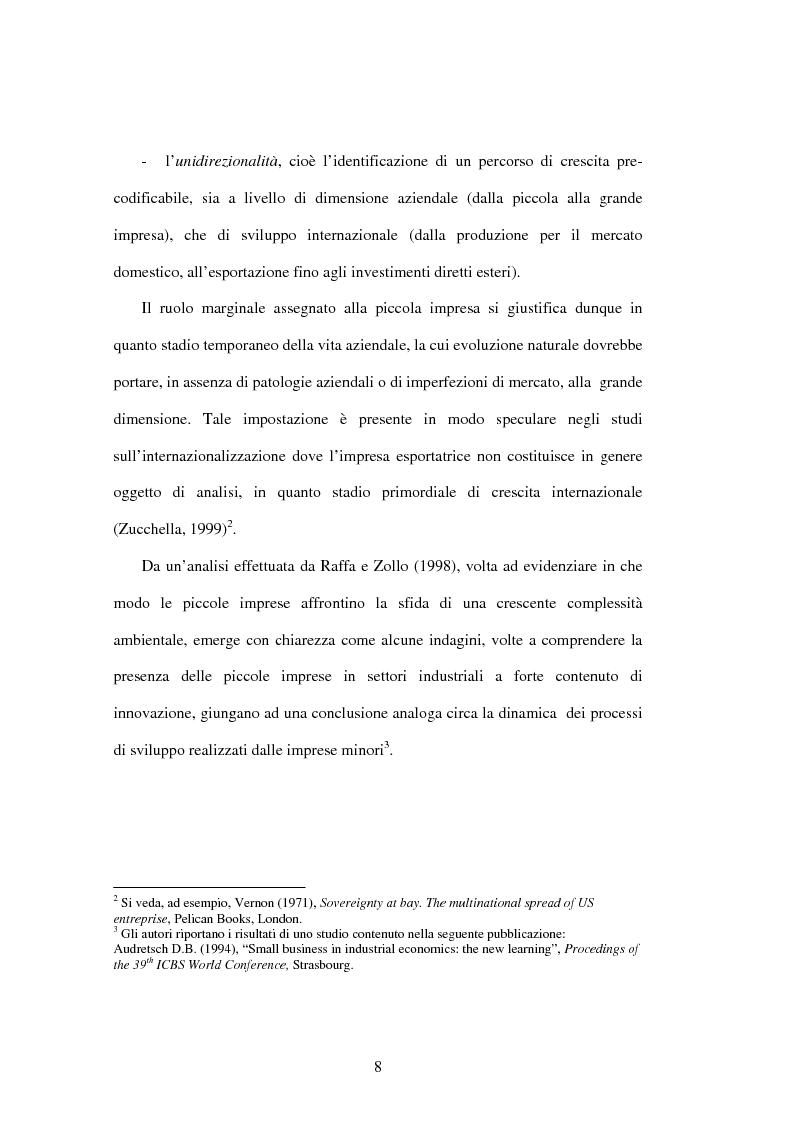 Anteprima della tesi: L'internazionalizzazione delle PMI, Pagina 6