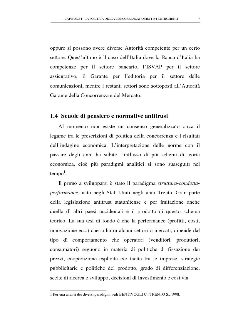 Anteprima della tesi: Il potere consultivo e di segnalazione dell'Autorità Garante della Concorrenza e del Mercato, Pagina 11
