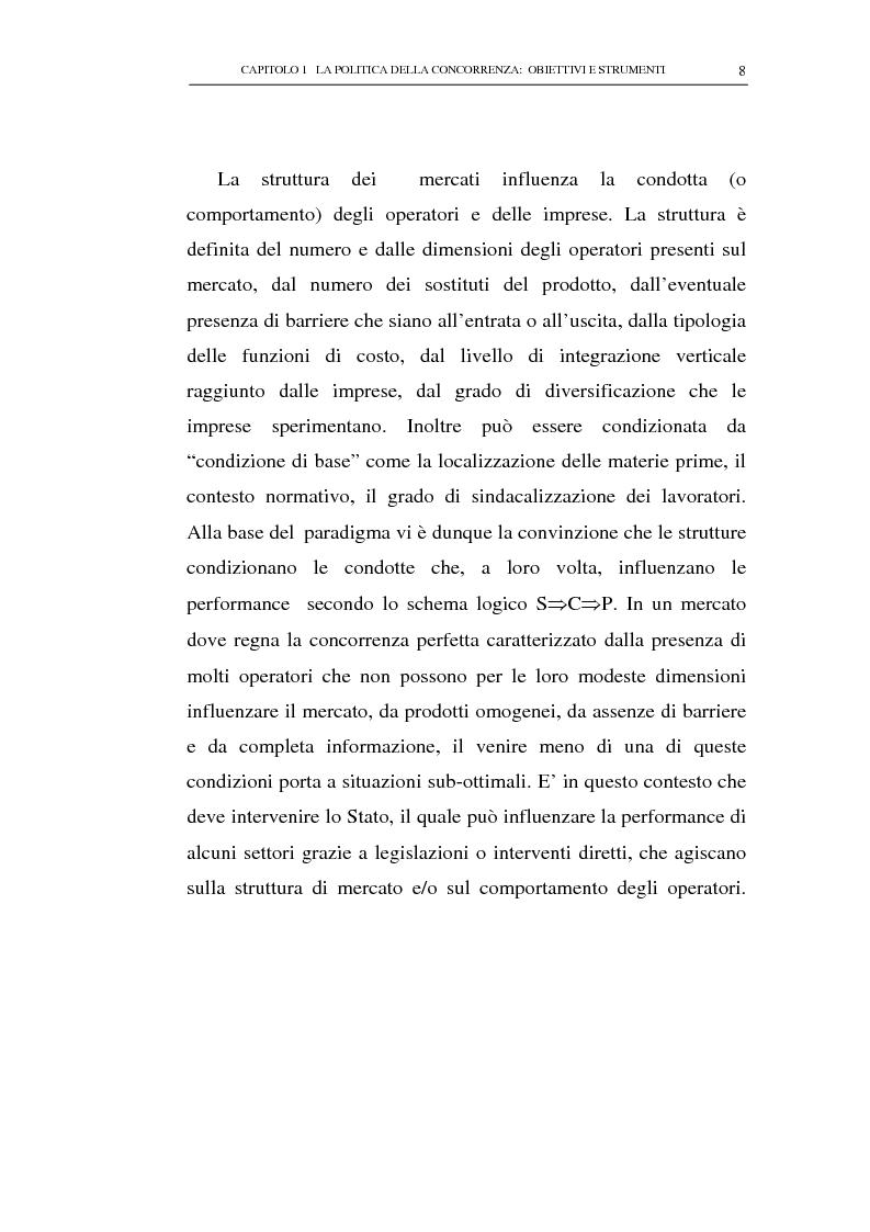 Anteprima della tesi: Il potere consultivo e di segnalazione dell'Autorità Garante della Concorrenza e del Mercato, Pagina 12