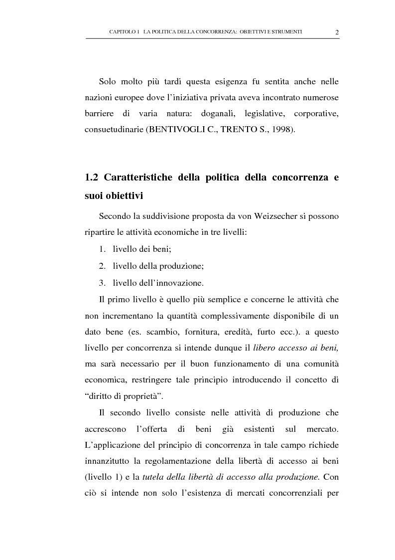 Anteprima della tesi: Il potere consultivo e di segnalazione dell'Autorità Garante della Concorrenza e del Mercato, Pagina 6