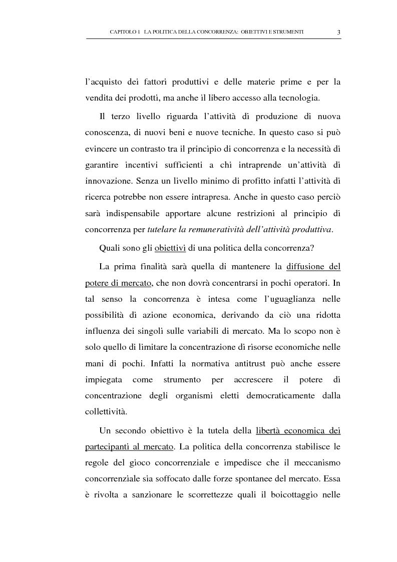 Anteprima della tesi: Il potere consultivo e di segnalazione dell'Autorità Garante della Concorrenza e del Mercato, Pagina 7