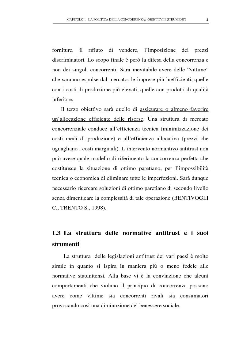 Anteprima della tesi: Il potere consultivo e di segnalazione dell'Autorità Garante della Concorrenza e del Mercato, Pagina 8
