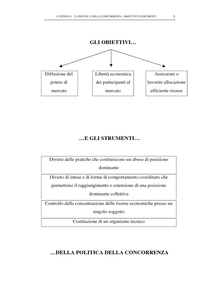 Anteprima della tesi: Il potere consultivo e di segnalazione dell'Autorità Garante della Concorrenza e del Mercato, Pagina 9