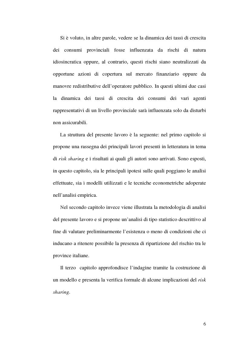 Anteprima della tesi: Ripartizione dei rischi fra le province italiane, Pagina 3