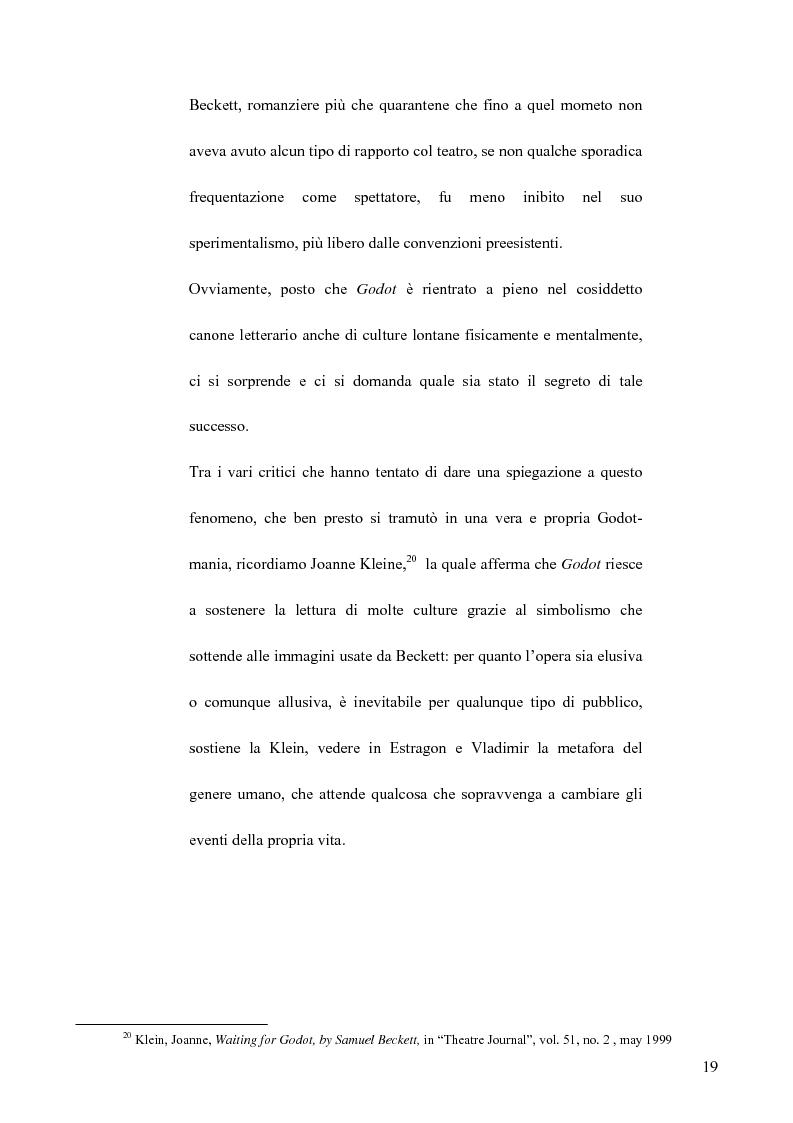 Anteprima della tesi: Il teatro di Samuel Beckett e Abe Kobo, Pagina 15