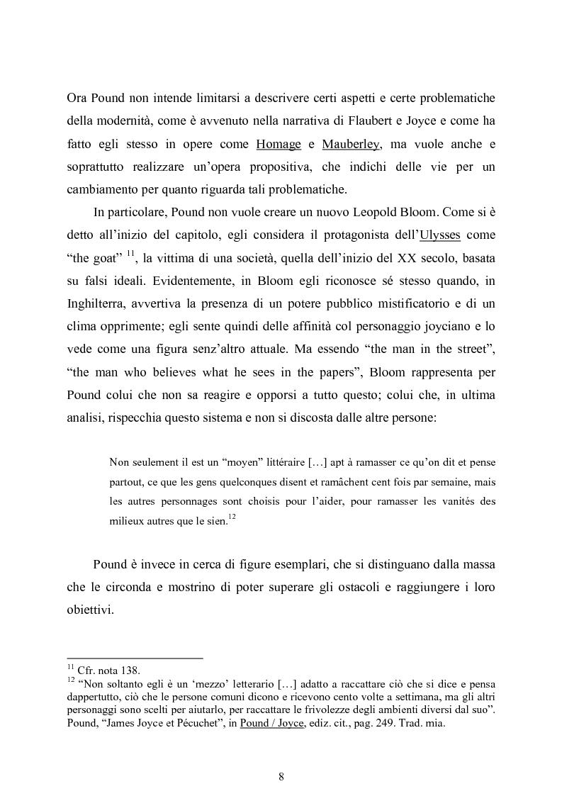 Anteprima della tesi: La figura di Odisseo nel primo Pound, Pagina 8