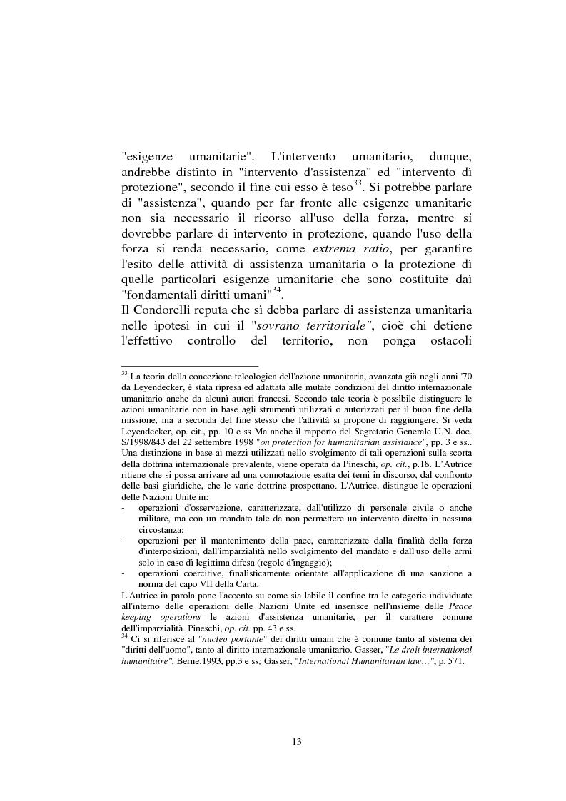 Anteprima della tesi: Diritto internazionale Umanitario - Assistenza e Protezione delle vittime dei conflitti armati, Pagina 13
