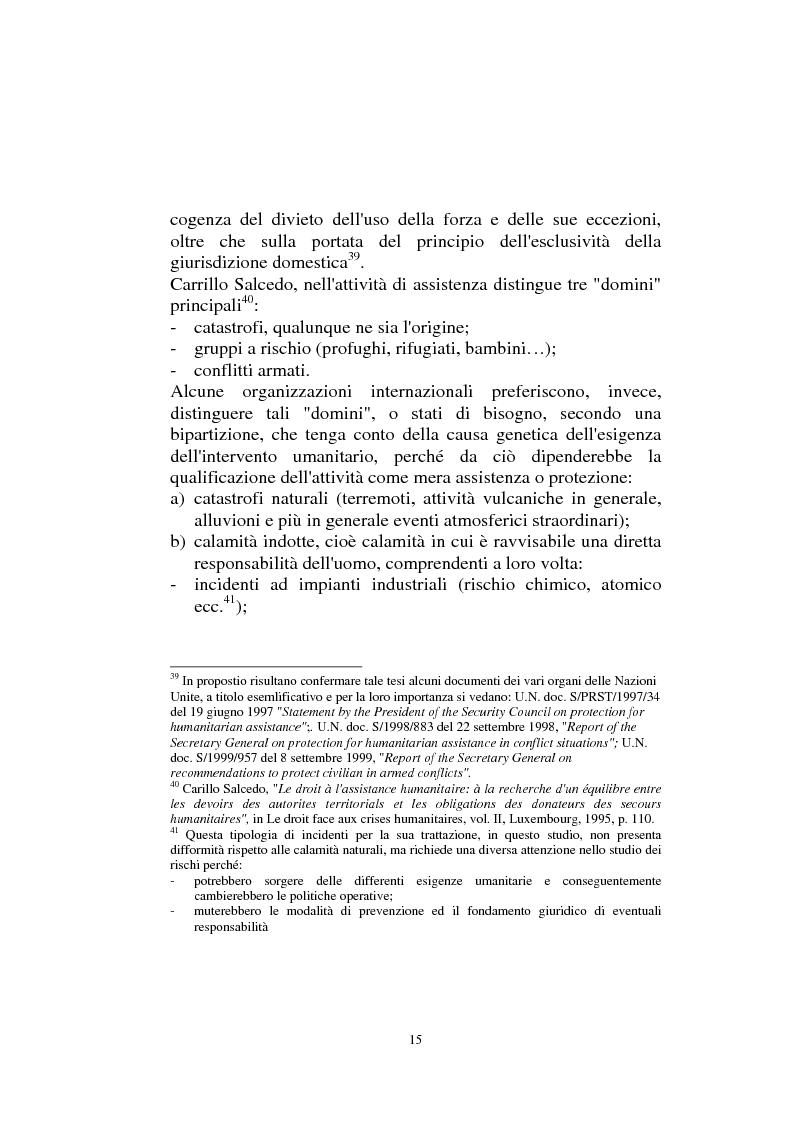 Anteprima della tesi: Diritto internazionale Umanitario - Assistenza e Protezione delle vittime dei conflitti armati, Pagina 15