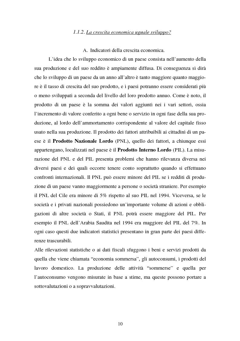 Anteprima della tesi: Trappola del sottosviluppo e ruolo delle organizzazioni internazionali, Pagina 5