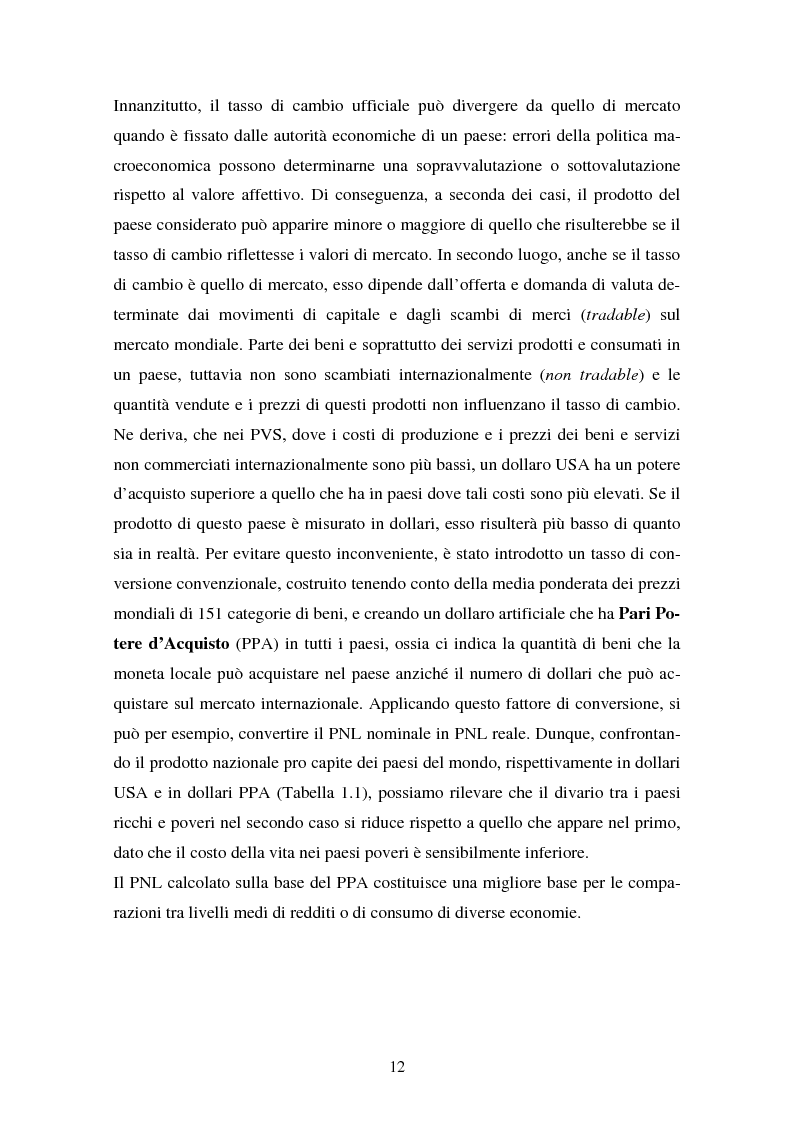 Anteprima della tesi: Trappola del sottosviluppo e ruolo delle organizzazioni internazionali, Pagina 7