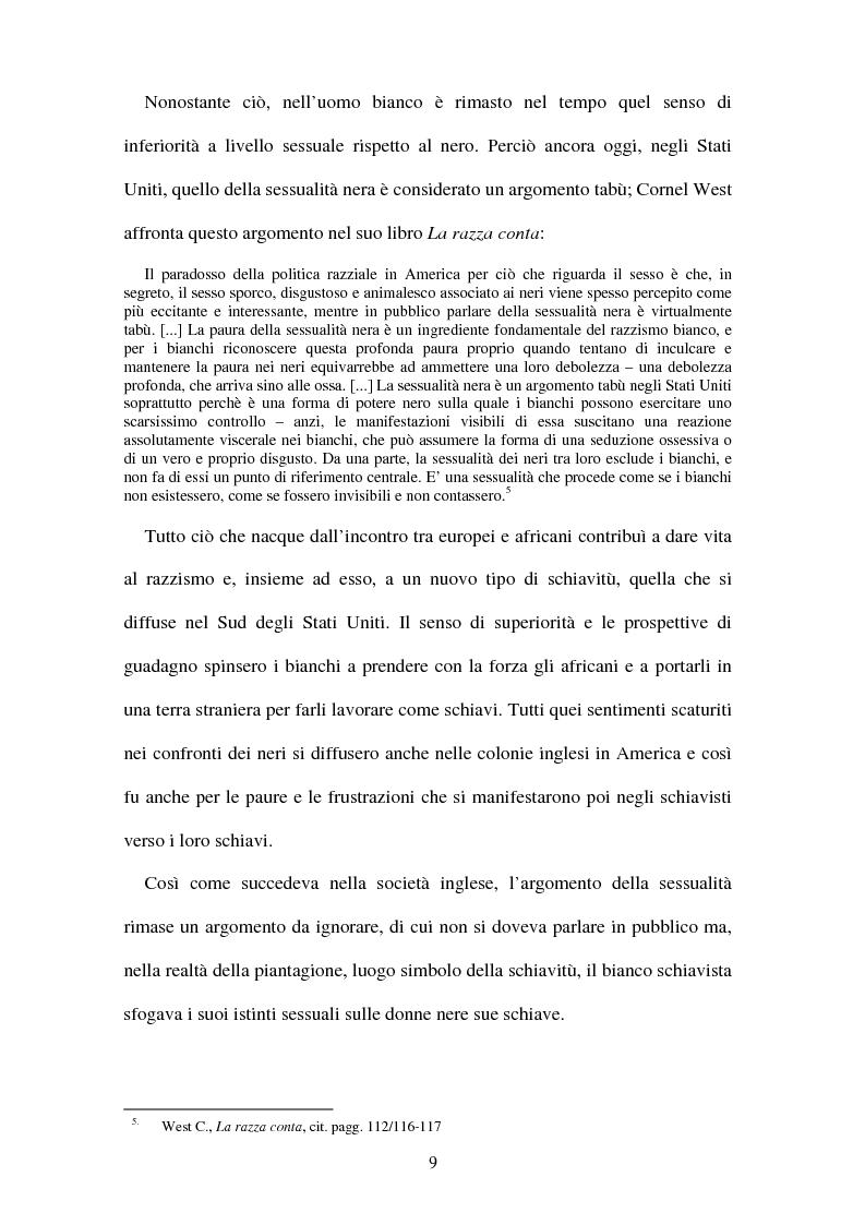 Anteprima della tesi: Da Frederick Douglass a Malcolm X: letteratura e identità, Pagina 9