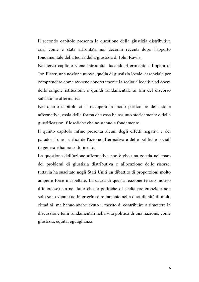 Anteprima della tesi: Filosofie della giustizia e azione affermativa, Pagina 3