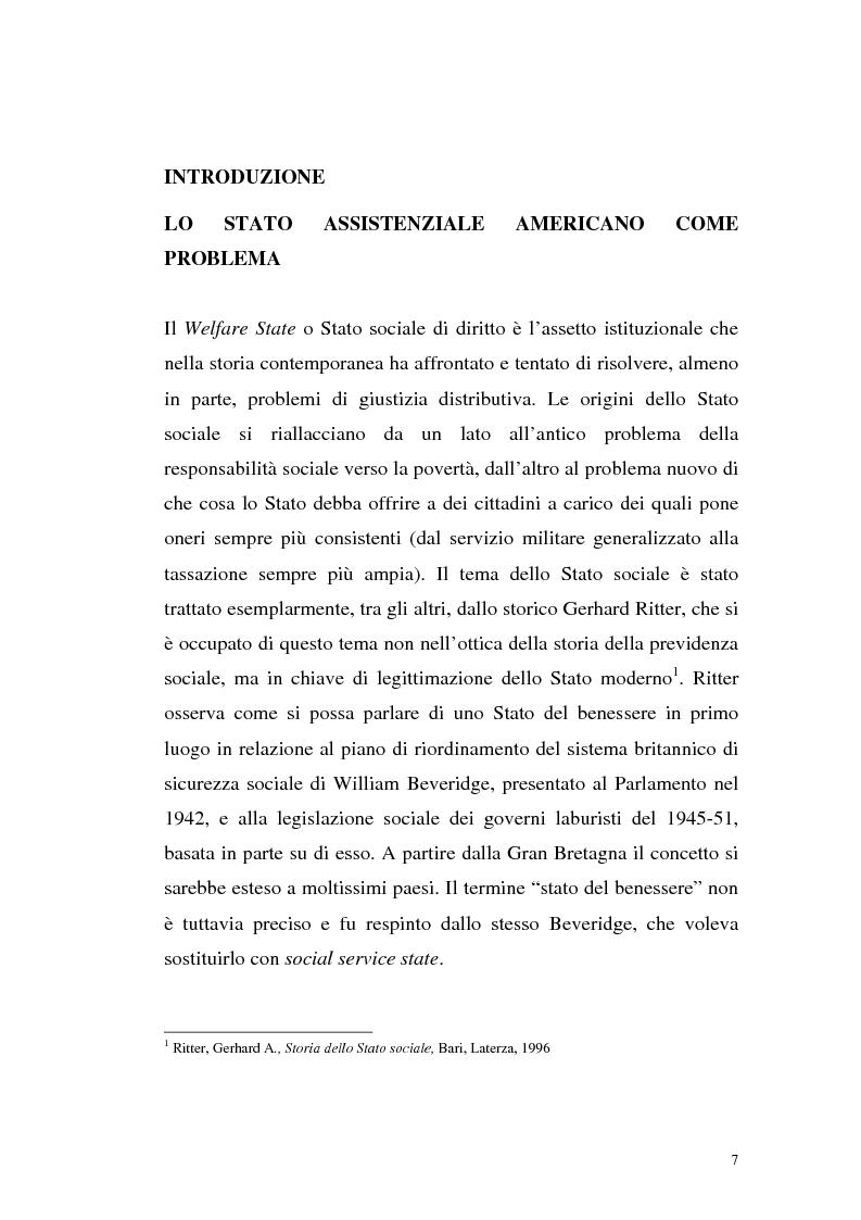 Anteprima della tesi: Filosofie della giustizia e azione affermativa, Pagina 4